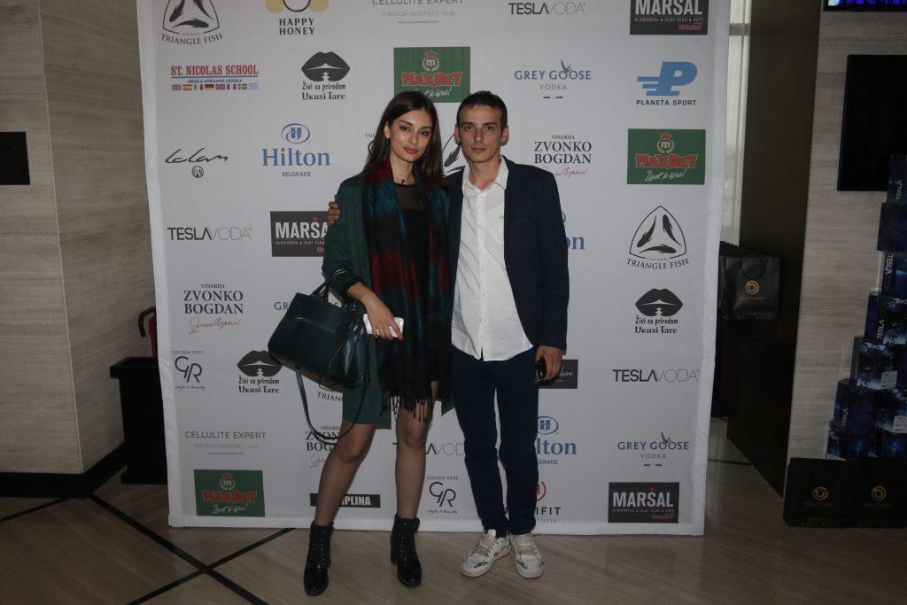 Dino Mudrolije i Jelena Marković