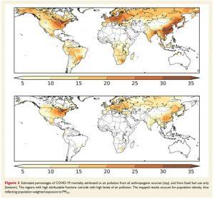 Izloženost zagađenju vazduha povećava smrtnost od COVID-19
